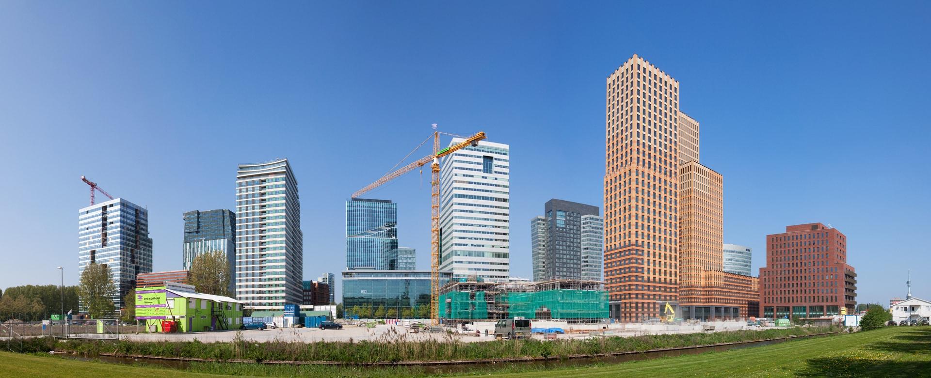 Skyline-ZuidasAmsterdam